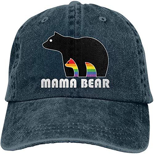 Funny Men Women Cool Hiphop Cap Adjustable California Bear Bear Hugging