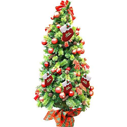 carol -1 Weihnachtsstrumpf, Nikolaussocken, Nikolausstiefel, Nikolausstrumpf, Nikolaus Socke Strumpf zum Aufhängen und Befüllen an Weihnachten und Nikolaus Weihnachten Beutel