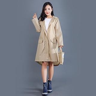 C&L 大人のファッショントレンチコートレインコートポンチョ、レインコートガールファッションポンチョアダルトレディウインドブレーカーレインコートドライウルトラライトレインコート (色 : D, サイズ さいず : M)