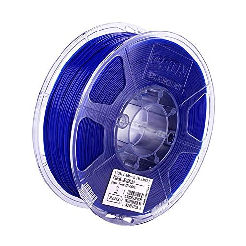 ABS Plus Filament 1,75mm, 3D-Druckerfilament 1 kg (2.2 lbs), ABS Upgrade-Version-Blau