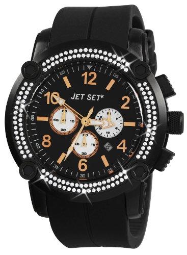 Jet Set Unisex Chronograph Quarz Uhr J3873B-267