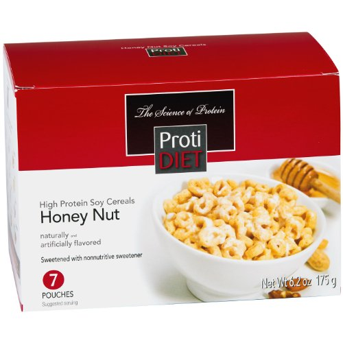 ProtiDiet High Protein Soy Cereals - Honey Nut 6.2 oz. (7 servings) by ProtiDiet