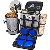PETRIP Dog Travel Bag Set, Dog Accessories Luggage Bags for Dog Stuff, Dog...