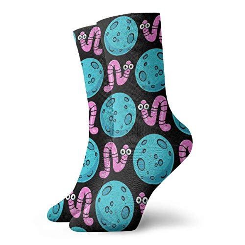 wu Flamingo Athletic Socks, Unisex Mid-Calf Socks Söckchen