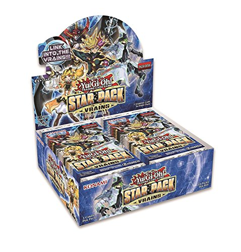 Yugioh 2018 Star Pack Vrains Booster Box - 50 packs of 3 cards each!