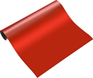 Blulu 1 Roll Heat Transfer Vinyl 12 Inch by 5 Feet for T-Shirts, Hats, Clothing, Iron on HTV Compatible with Cricut, Came...