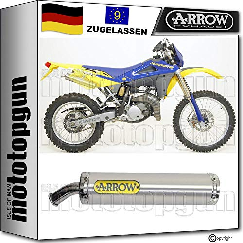 ARROW Mini-Thunder Titan (Slip-On) | Husqvarna WRE 125 (2009 - 2010)