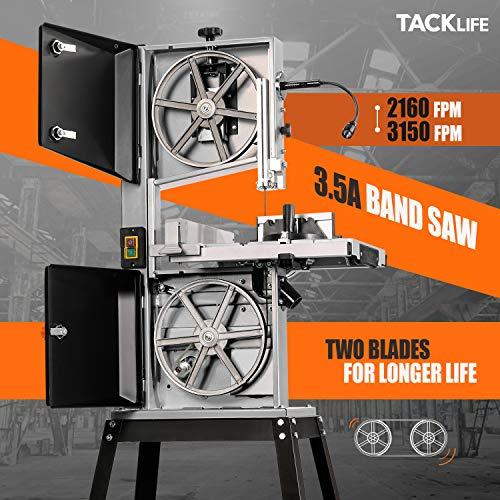 TACKLIFE Bandsaw, 3.5A 10