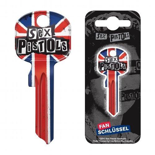 Fanschlüssel Schlüsselrohling Schlüsselanhänger Fanartikel Schlüsseldienst Sex Pistols