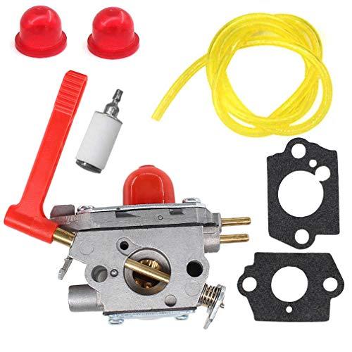 AISEN Carburetor for C1U-W50A 585345913 Homelite Poulan Pro PP28CD PP28LD PP28PDT PP28RJ String Trimmers with Gasket Primer Bulb Fuel Line