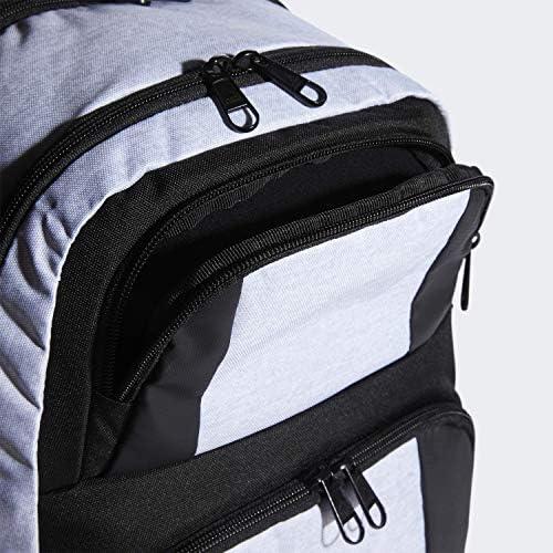 Amazon.com: adidas Unisex Strength Backpack, White Jersey/Black ...