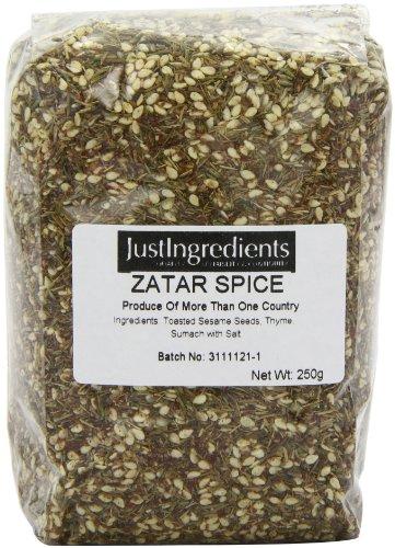 JustIngredients Essential Zatar (thym en Arabe) (Zatar Spice) 250g