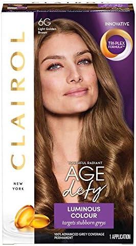 Clairol Age Defy Permanent Hair Dye 8A Medium Ash Blonde
