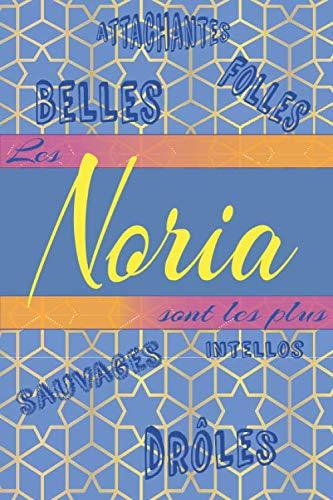 Les NORIA sont les plus: Carnet de notes original à offrir | 110 pages lignées sur lesquelles Noria pourra s'organiser ou simplement noter ses idées du jour | Format pratique 15.24x22.86 cm (6x9po)