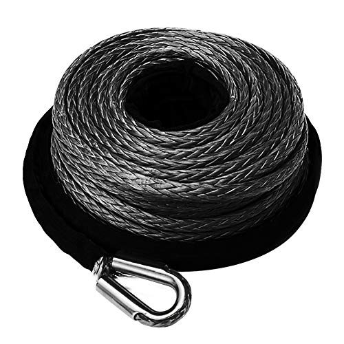 FIERYRED Synthetic Winch Rope 3/8