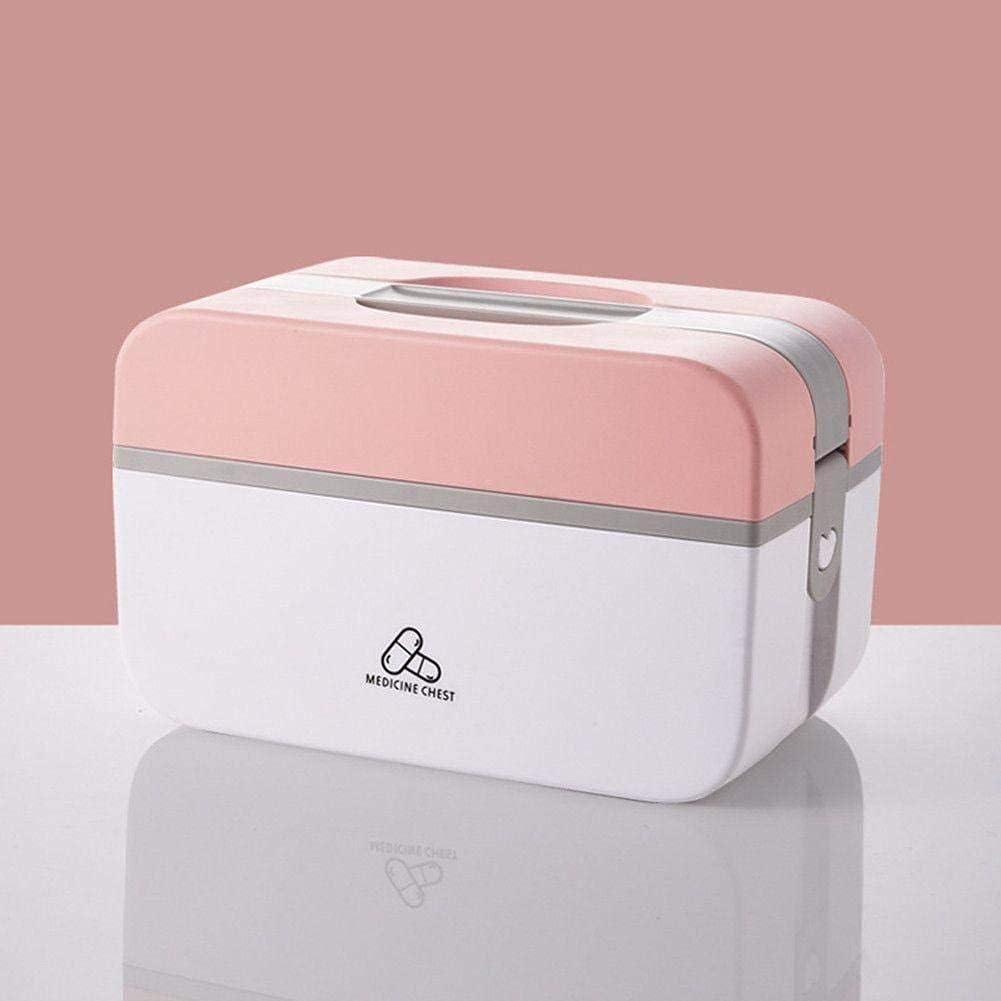 SanZHONGsd Medicine Storage Box Cont Family Tier Cash special price 2- Max 62% OFF