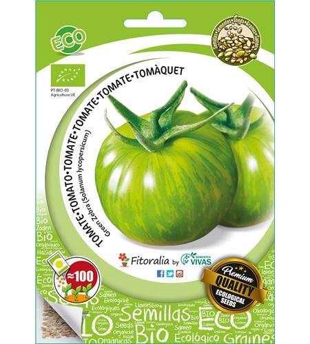Tomate ecológico ( green zebra) - Semillas fitoralia