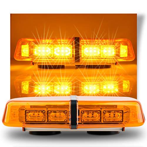 JUEJIDP Tira de Luces LED para Puerta de Coche, Universal Brillante, luz de Seguridad, Luces estroboscópicas, Advertencia, anticolisión Trasera para Coche, camión, Caravana, Tractor, Emergencia