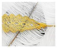 HND 1Pairカラフルな透かしレースレースオフホワイトシューズレーススニーカーカジュアルレザー靴ひも3CM幅100分の80 / 120CM長靴ひも (Color : Yellow, Size : 100cm)