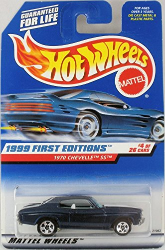 Mattel Hot Wheels 1999 First Edition #4 of 26 cars, 1970 Chevelle SS, #915 by Mattel