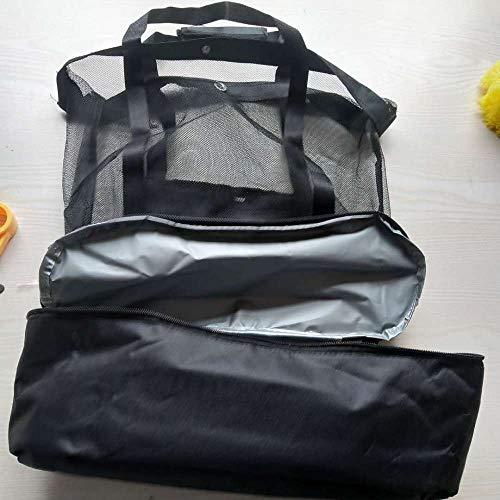 SHUNHUI Bolsa De Hielo Picnic Bolsa De Preservación del Calor Bolsa De Playa Bolsa De Almacenamiento Bolsa De Almacenamiento Bolsa De Almuerzo Bolsa