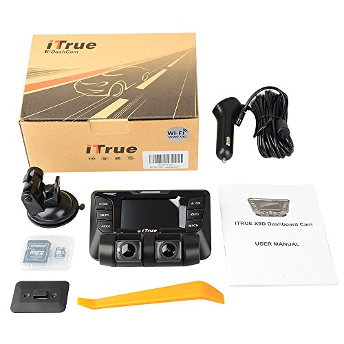 2A Special For Dash cam Suitable for vehicles from 12V to 24V Magnetic ring to reduce the interference to car radio ITrue Car Charger 5V Dual ,WiFi ,GPS and multi-function