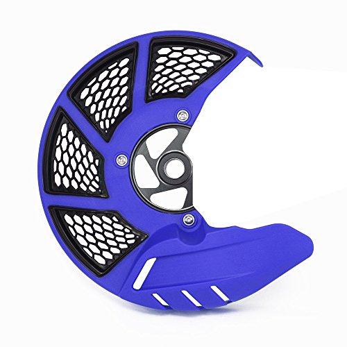 JFG Racing Moto Frein à disque avant Garde Coque de protection pour K.T.M 125-530 SX SXF XC XCF 15-17 EXC EXCF 16-17 Husqvarna TC FC 125-450 15-17 TE FE 125-501 16-17 TX FX 125-450 17 bleu
