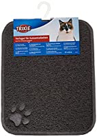 keeps floors clean from dirty paws suitable for all litter trays durable Material is Polyvinyl chloride