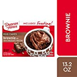 Duncan Hines Perfect Size For One Brownie with Chocolate Frosting, 13.2 Ounce