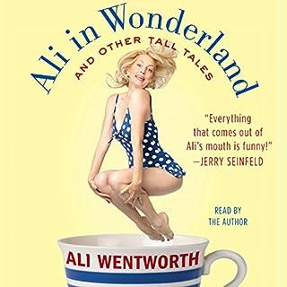 Ali in Wonderland audiobook cover art
