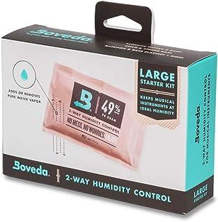 Boveda 音楽用 2-ウェイ 湿度 コントロール ラージ スターター キット フレット/ボウド ウッド インストゥルメント (アコースティック ギター) インストゥルメント インクルード (4) サイズ 70 49-RH (2) ダブル フ...