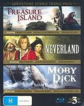 Adventure Series Triple Pack - 3-Disc Box Set ( Treasure Island / Neverland / Moby Dick ) [ Blu-Ray, Reg.A/B/C Import - Australia ]