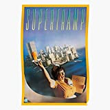 True Promotional in Supertramp Album Crime Breakfast Cover America The Best and Style Home Decor Wall Art Print Poster !!!
