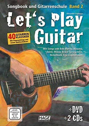 Let's Play Guitar Band 2: Songbook und Gitarrenschule + DVD + 2 CDs. Mit Songs von Bob Marley, Nirvana, Adele, Milow, Bruce Springsteen, Nickelback, Jason Mraz uvm ( 4. Februar 2015 )