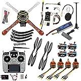 FEICHAO FPV Drone Quadcopter Kit 4 Assi per aeromobili 450 Kit Telaio 920KV Motore PXI PX4 Puntatori GPS per Controllo di Volo AT10