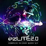 EmazingLights LED Gloves Elite ezLite 2.0 Light Up Glove Set - #1 Leader in Gloving and Light Shows
