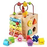 Multifunktions-Spielwürfel aus Holz