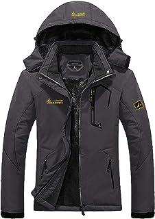 Women's Waterproof Ski Jacket Warm Winter Snow Coat Mountain Windbreaker Hooded Raincoat