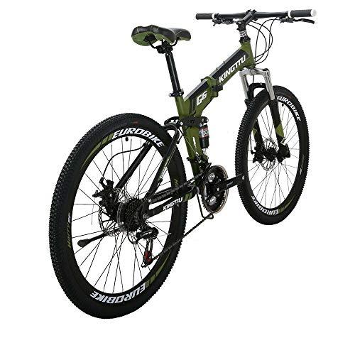 Eurobike 26 in Folding Mountain Bikes G6 (Green)