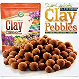 Organic Expanded Clay Pebbles Grow Media for Orchids,...