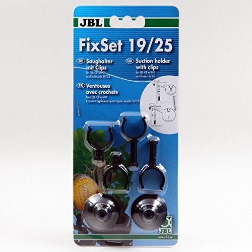 JBL Set con Soporte de Ventosa Universal con Clips para Exterior Filtro CristalProfi e 1901, Fixset, 60236