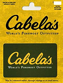 Cabelas Gift Card