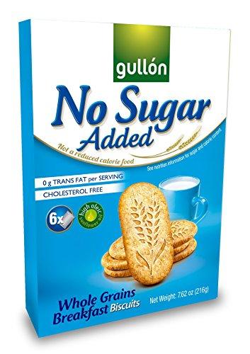 Biscuits de petit déjeuner aux grains entiers sans sucre ajouté Gullon, 216 g (paquet de 3)
