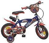 Toimsa - Bicicletta per Bambini dai 3 ai 6 Anni, 12', Motivo: Spiderman