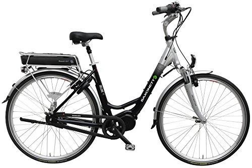 Saxonette Deluxe M E-Bike Mittelmotor 13Ah RH47 Shimano 7Gang-Nabenschaltung blau/silber