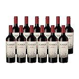 12er Weinpaket Catena Alamos Malbec (12 x 0,75l) - Edler Rotwein aus Argentinien