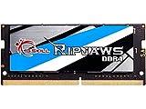 G.Skill RipJaws SO-DIMM Series 16GB (1 x 16GB) 260-Pin (PC4-25600) DDR4 3200 CL22-22-22-52 1.20V SO-DIMM Memory Model F4-3200C22S-16GRS