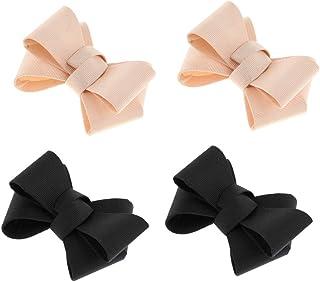joyMerit 4 Lot Simple Bow Shoe Clips Amovible DIY de Bal À Talons Hauts Charmes de