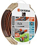 Gardena Flex Set Ø 15 mm with 20 m Hose, Lance and Irrigation Accessories, Standard, 5/8' x 66'