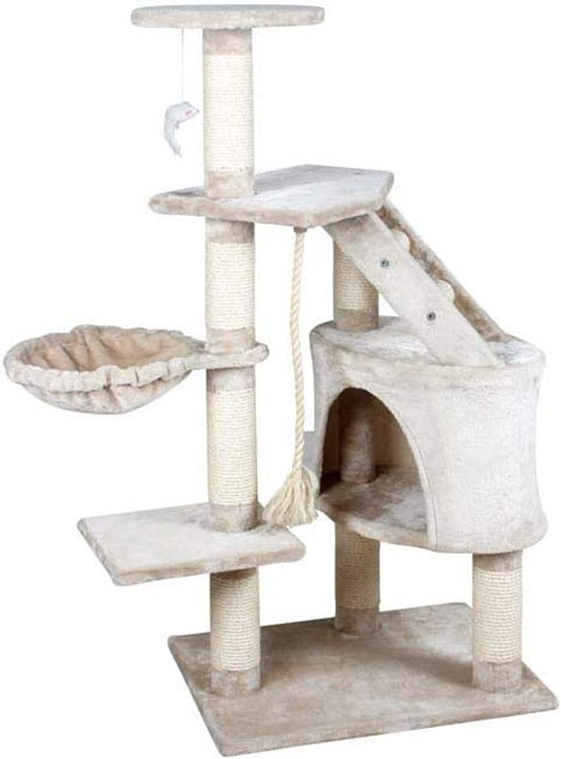 Aoligei Cat Play Towers & Trees Station Sisal Corrugated Cat Scratch Board sisal cat cat Nest Cat Toy 54  50  120cm